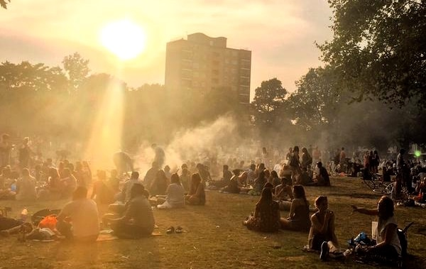 Postcard from: The London heatwave