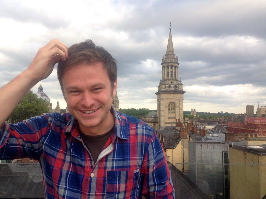 The Oxford head scratch