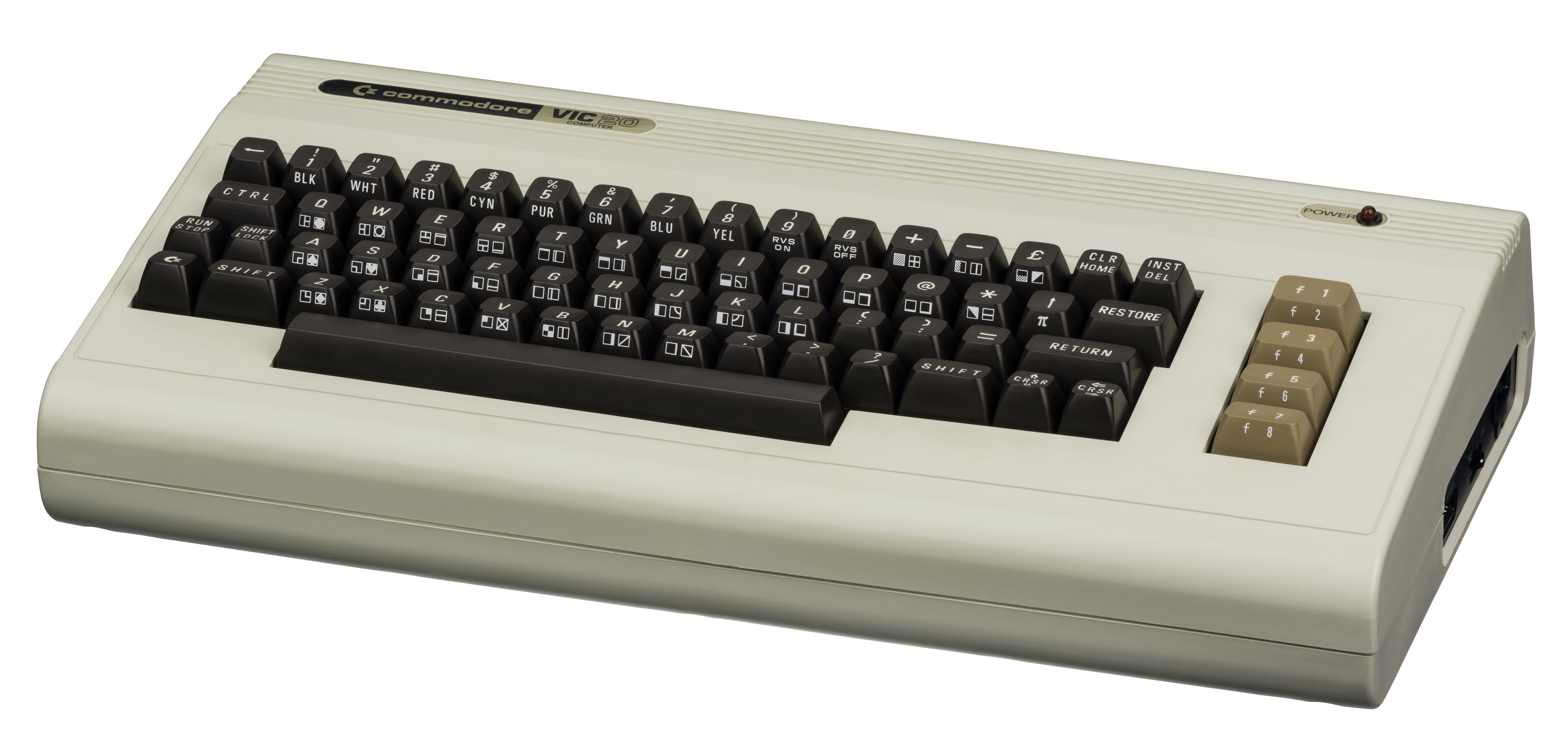 The VIC-20 could only display 22 characters per line, but people loved it for games