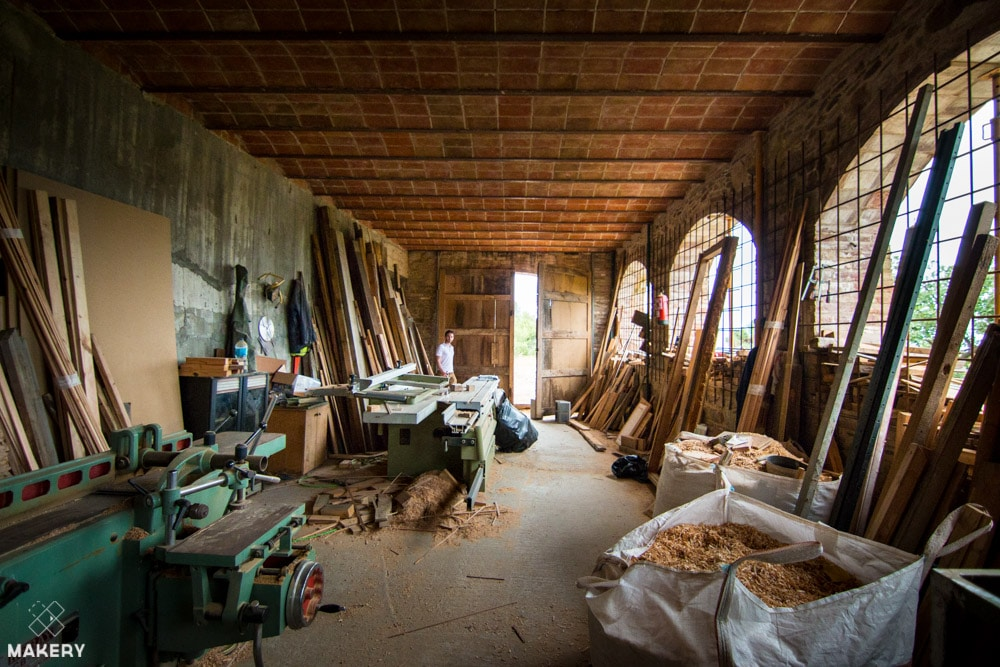 Green Fab Lab aims for zero waste, storing and recycling wood