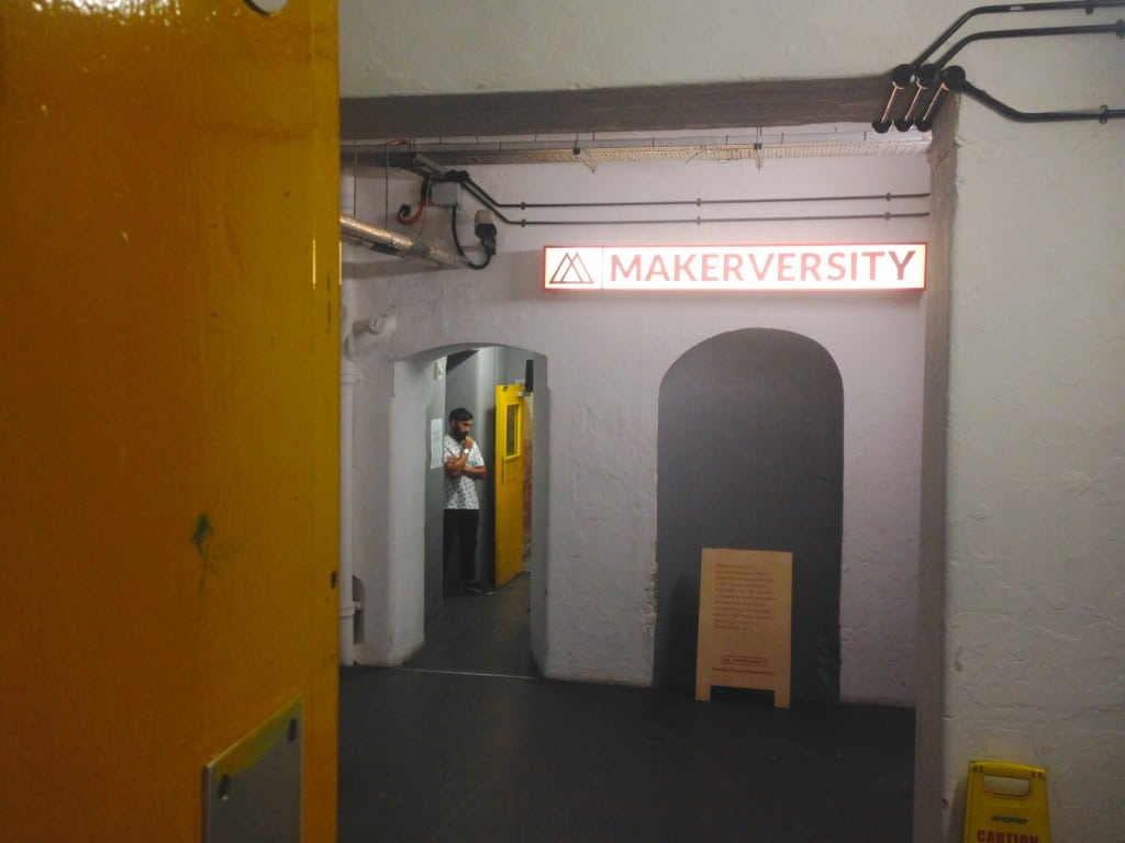 Chin-stroking is actively encouraged at Makerversity