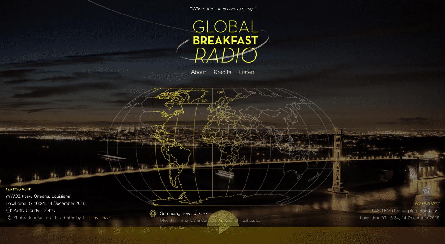 Global Breakfast Radio