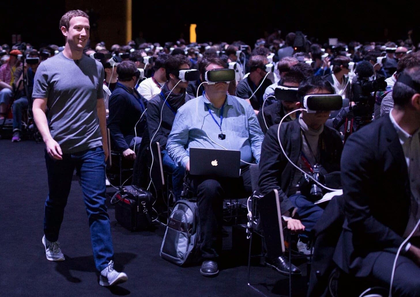 This photo freaked out the world, but there's more to MWC than Zuckerberg