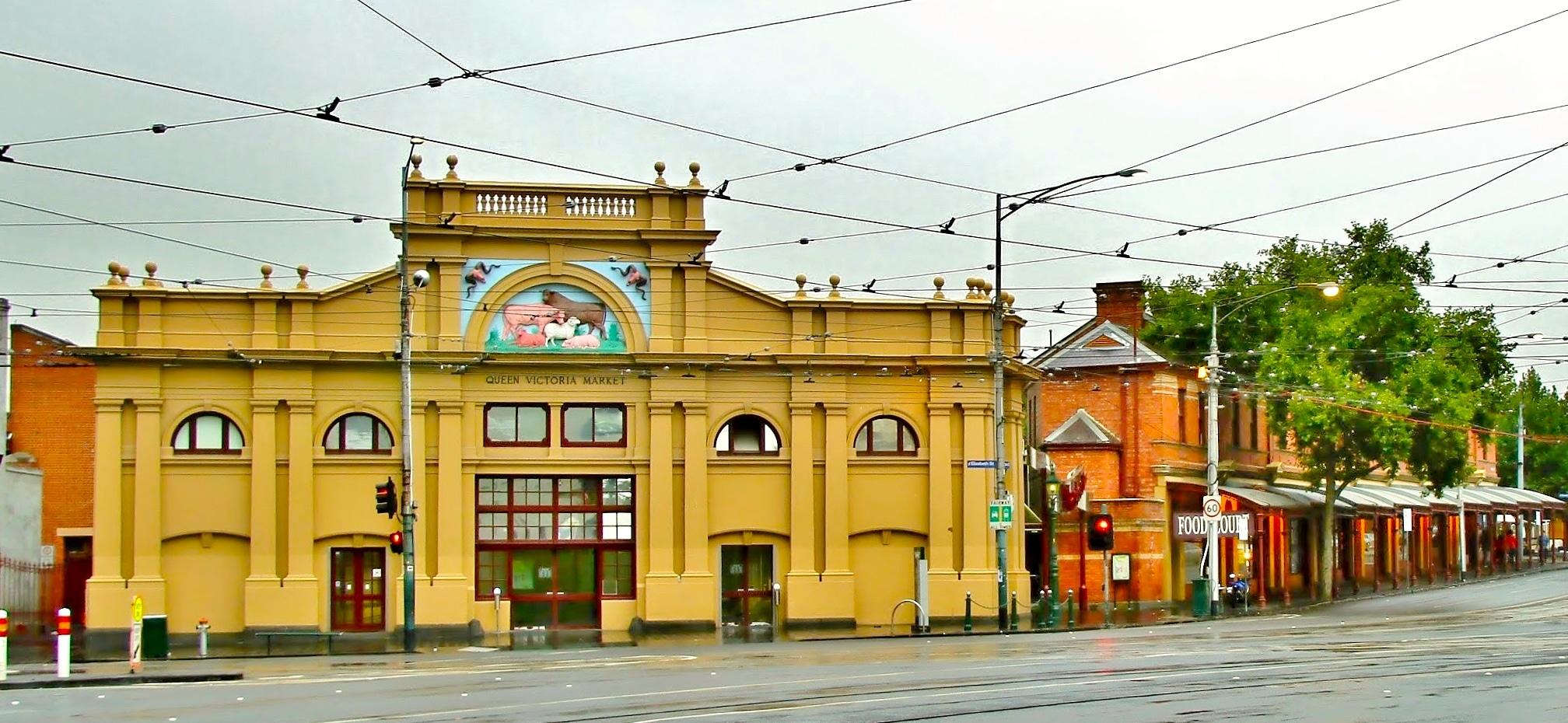 The Queen Victoria Market