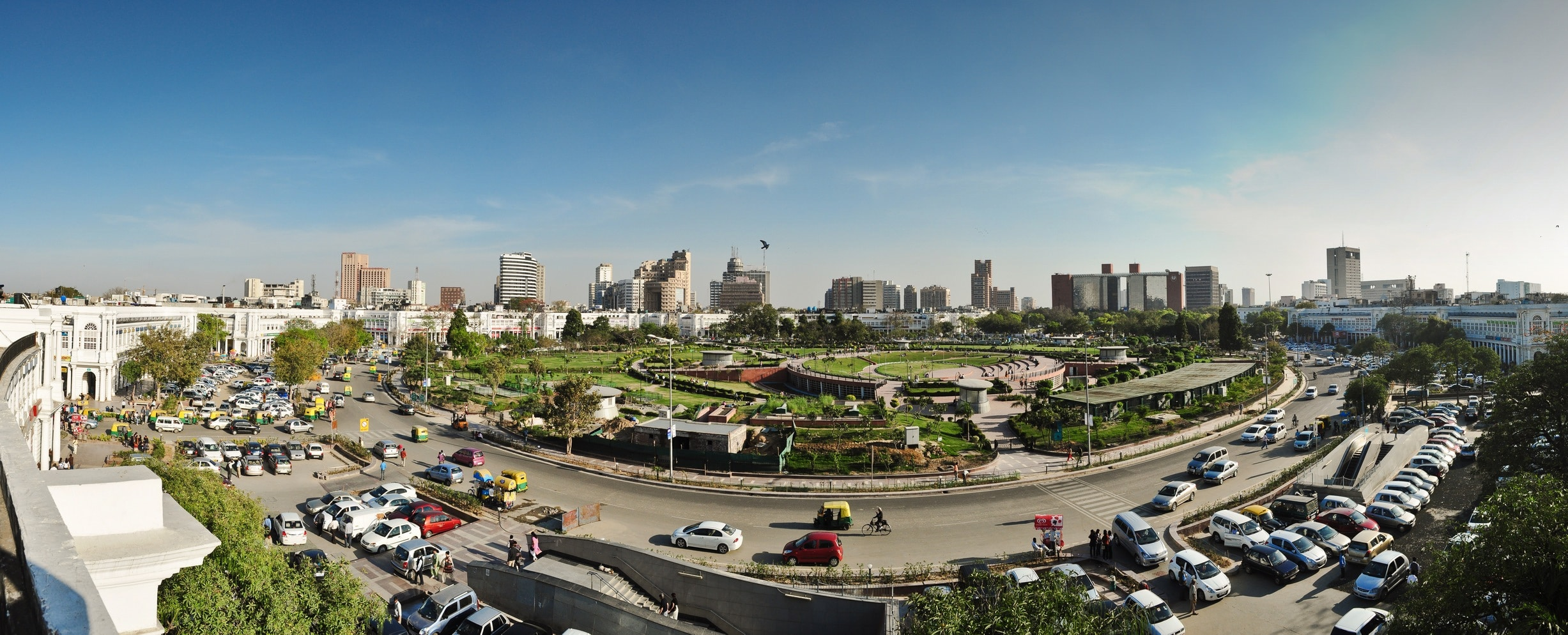 Connaught Place in Delhi is an important economic hub of the National Capital Region