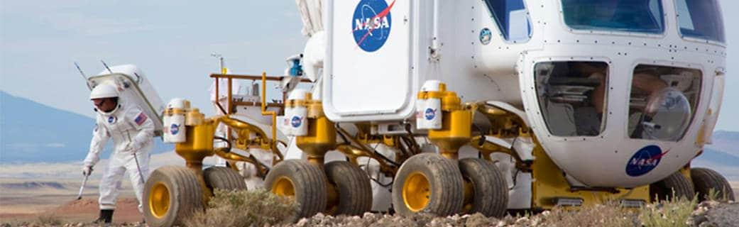 Lunar Electric Rover (LER) Desert Testing in Flagstaff, Arizona