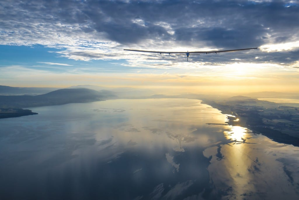 Here comes the sun: Solar Impulse touches down