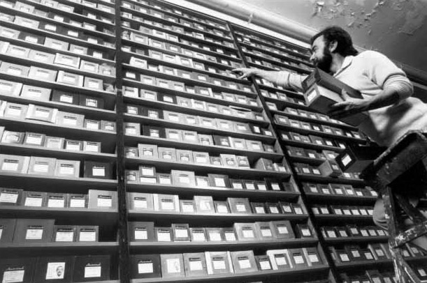 Archival storage for piano rolls, The National Film and Sound Archive Australia