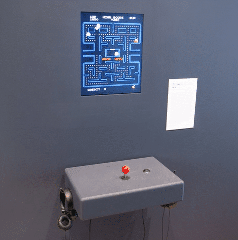 Pac-Man is one MOMA's most popular games on display