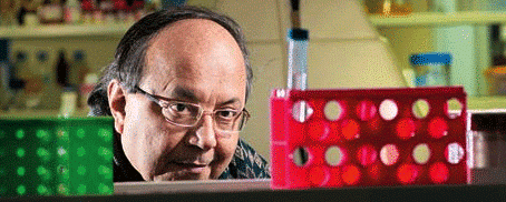 """The ebullient Samir Brahmachari. """"Great science, great literature, all great philosophy comes out of emotional engagement! Not by being professional!"""" The Professor could be enjoying his retirement. Instead, most days you'll find working late into the evening at Delhi's Institute of Genomics and Integrative Biology, trying to beat one of the biggest threats facing humanity."""