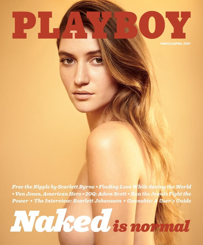 Playboy: naked is normal