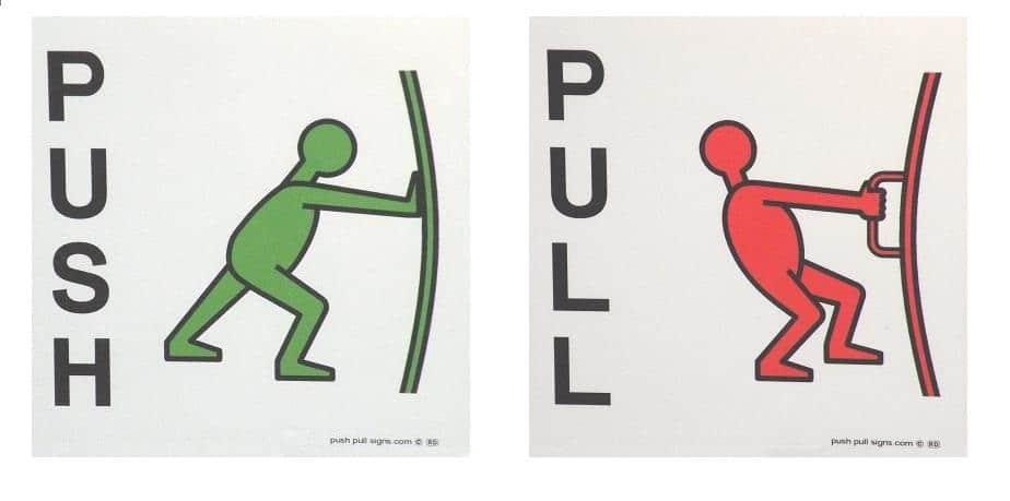 Push-Pull-Label-Labels