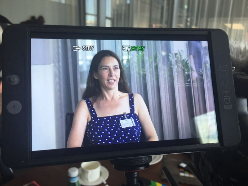 Atlas co-founder Cathy Runciman is ready for her close up
