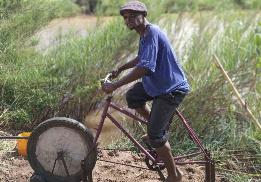 Bici-bombas de Azada Verde