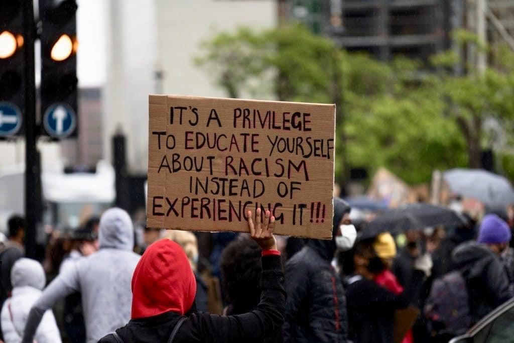 black lives matter privilege cafe