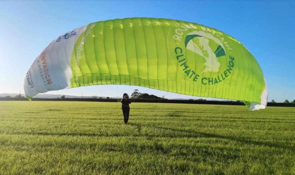 Round Britain Climate Challenge launch.