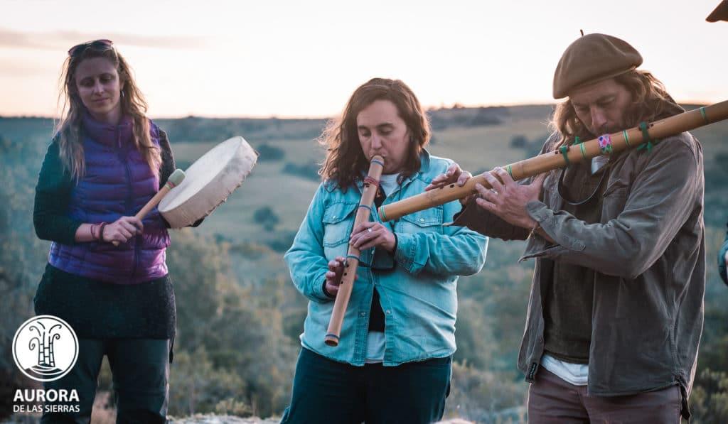 music class in Aurora de las Sierras
