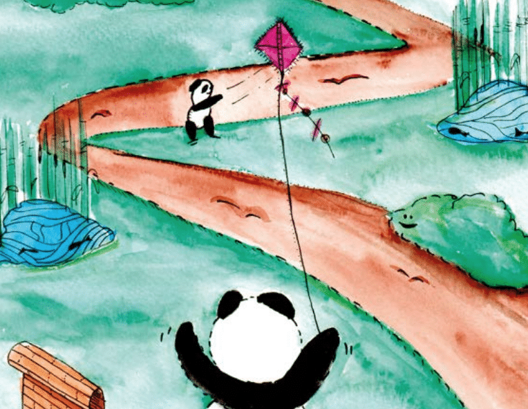 Artwork from the Bamboo Stories book