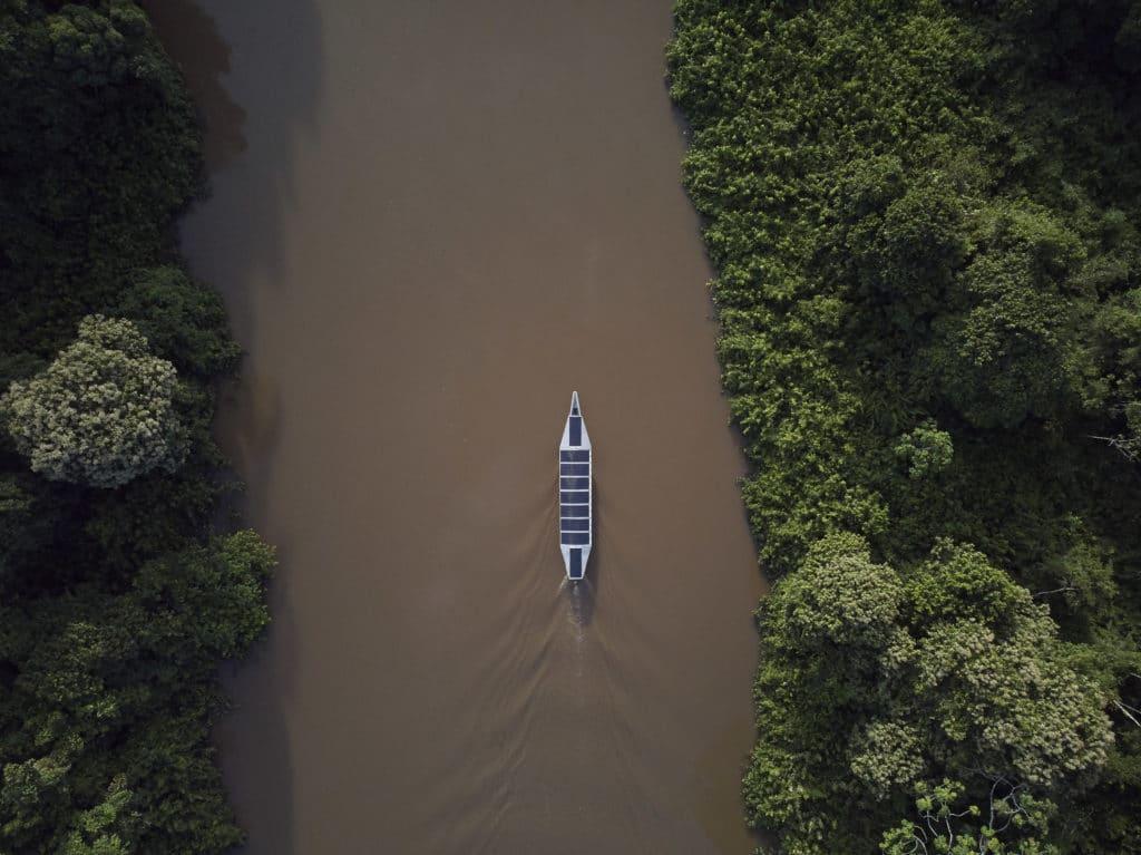 Kara solar canoe