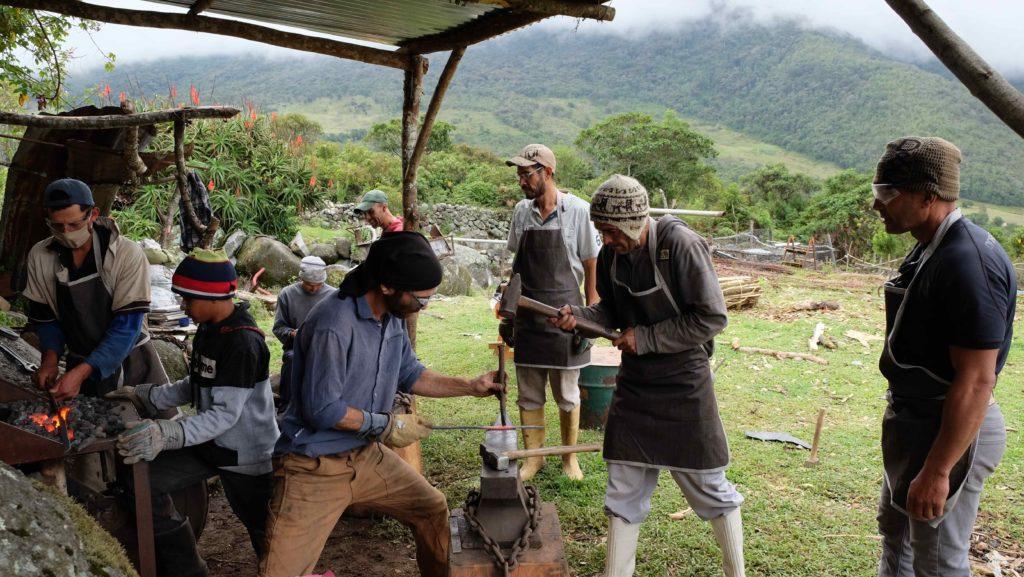 Class at La Caravana Escuela